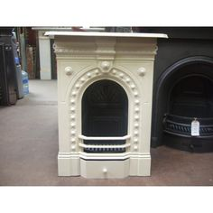reclaimed victorian fireplace