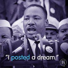 Martin Luther King 'had a dream' onze fighter dook een tijd terug de tijd om er lekker op in te haken voor Hi.  Fighter: Robbert& Geert  Brand: Hi
