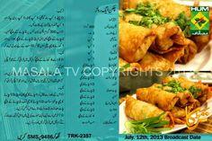 Chicken egg roll Egg Roll Recipes, Rice Recipes, Snack Recipes, Cooking Recipes, Chicken Egg Rolls, Urdu Recipe, Desi Food, Ramadan Recipes, Spring Rolls