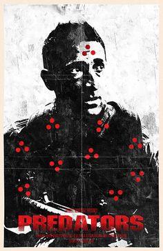Predators - movie poster - Bill Pyle