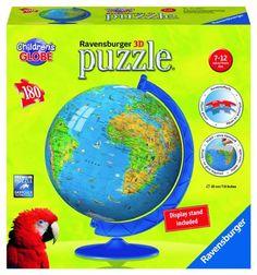 Ravensburger Children's Globe 180 Piece Puzzleball: Ravensburger: Amazon.co.uk…