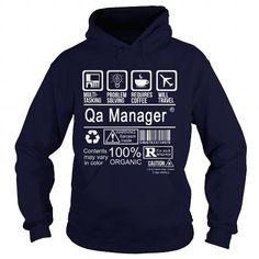 QA MANAGER CERTIFIED JOB TITLE T-Shirts, Hoodies, Sweatshirts, Tee Shirts (38.99$ ==> Shopping Now!)