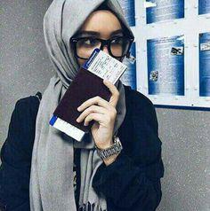 Muslim Fashion, Modest Fashion, Hijab Fashion, Girl Fashion, Womens Fashion, Hijab Dp, Hijab Stile, Hijab Chic, Alexandra Golovkova