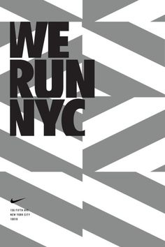 Anton Pearson / Nike Running / The Flatiron Posters / We Run NYC / Poster / 2014