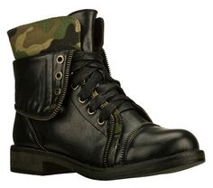 Buy SKECHERS Women's AWOL - Cute Combat Ankle Boots only $85.00
