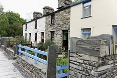 Miners cottages, National Slate Museum, Wales - source http://vacationrentals.bg/miners-cottages-national-slate-museum-wales/  by  #condo #chalets #cottage