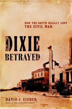 David Eicher reveals the story of the political conspiracy, discord and dysfunction in Richmond that cost the South the Civil War. He shows how President Jefferson Davis fought not only with the Confederate House and Senate and with State Governers but also with his own vice-president and secretary of state.