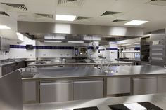 The newly refurbished kitchen in The Ritz London.