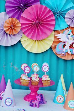 Photo 1 of 22: My Little Pony / Birthday Twins Turn 1 | Catch My Party