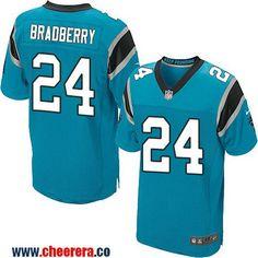 Men's Carolina Panthers #24 James Bradberry Light Blue Alternate Stitched NFL Nike Elite Jersey