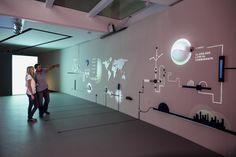 Interactive Museum, Interactive Media, Museum Art Gallery, Interaction Design, Design Museum, Multimedia, Signage, Toyota, Display