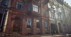 ArtStation - Assassin's Creed Syndicate - Victorian residential buildings - Textures, Bruno Morin