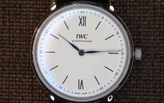 #IWC Portofino Hand-Wound Pure Classic acero