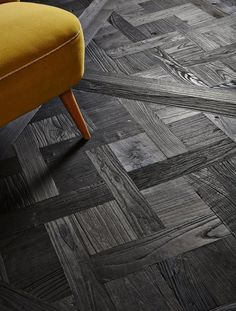 Inspired by the Japanese Yakisugi technique of charring wood, Jet from the Vault Collection. http://ow.ly/Xum4w
