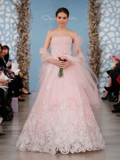 Oscar De La Renta Wedding Dresses 2015 - MODwedding