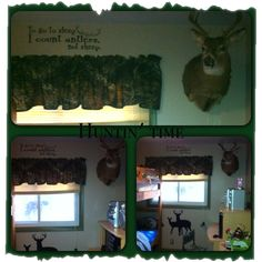 Boy's Hunting Room