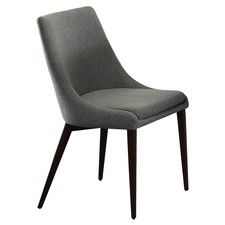 Kitchen and Dining Chairs - Chair Design: Parsons Chair-Side Chair, Seat Material: Upholstered | Wayfair