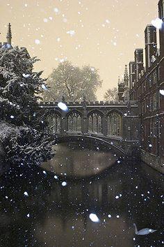 Bridge of Sighs   Cambridge University   Cambridge, England   Yes, please.