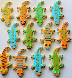 Bright lizzards