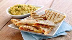 Grillet quesedilla med chorizo og cheddar - MatPrat