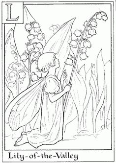 FAIRY COLORING PAGES