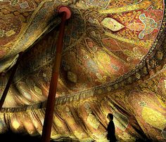17th century Ottoman tent from the Dresden State Art Collections