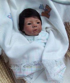 Biracial baby doll