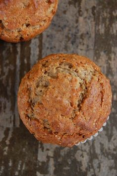 Vegan Banana Muffins - sub yogurt for milk & add chocolate chips - Kendall…