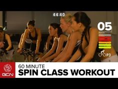 Spinning® Workout - Get Fit With GCN's 60 Minute Spin Class - YouTube