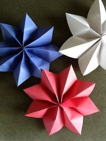 Construction paper stars                                                                                                                                                     More