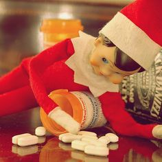 @Autumn Lockett- this has to be for the very last night that James is with you.  Even the Elf on the Shelf needs a little help to make it through the holidays :)