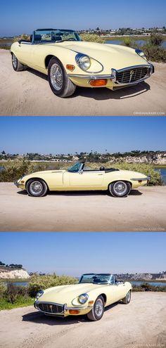 1972 Jaguar E-Type SIII Roadster Source by newsforclassiccarspics Best Classic Cars, Classic Sports Cars, Uefa Euro 2016, Automobile, Jaguar E Type, Jaguar Cars, Jaguar Roadster, Jaguar Xk, British Sports Cars