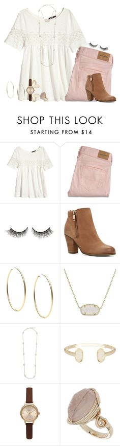 """it is well with my soul"" by hmcdaniel01 ❤ liked on Polyvore featuring H&M, Rimini, ALDO, Michael Kors, Kendra Scott, Olivia Burton, Topshop, women's clothing, women and female"