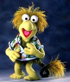 """Wembley from """"Fraggle Rock"""" I use to love this show when I was a kid"""