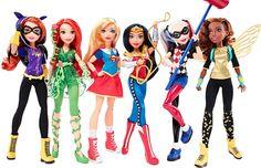 Coleção DC Super Hero Girls traz bonecas super-heroínas em parceria com DC Comics;