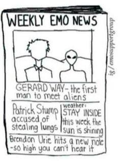 """Weekly Emo News"""