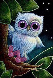 Artist Portfolio of Cyra R. Cancel  The Blue Owl