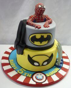 Wolverine Birthday Cake   ... cake-spiderman-cake-batman-cake-captain-america-cake-wolverine-cake