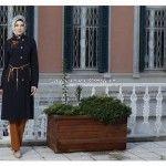 2016 Tesettür Giyim Pardesü Modelleri