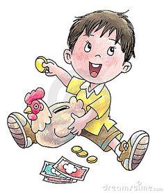 Illustration about A boy save his pocket money into a hen-shaped piggy bank. Illustration of pocket, bank, invest - 9256228 Pocket Money, Best Resume Template, Piggy Bank, Royalty Free Stock Photos, Doodles, Teddy Bear, Clip Art, Illustration, Anime