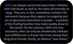 Imagen de feeling, infj, and introvert