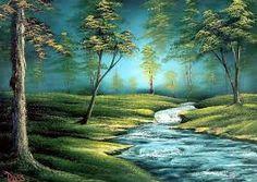pinturas de paisajes mas hermosos del mundo - Buscar con Google