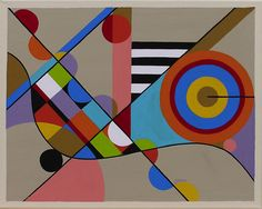 geometric abstract art paintings - Google Search