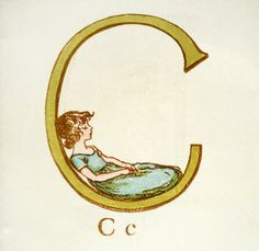 Kate Greenaway's Alphabet, 1885