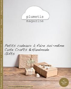 Plumetis Magazine. [online] In French & English. Cute crafts & handmade projects.