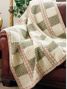 Crochet - A Walk in the Woods Afghan - #EC00979