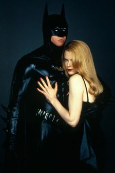 N°10 - Val Kilmer as Bruce Wayne / Batman - Batman Forever by Joel Schumacher - 1995 - With Nicole Kidman