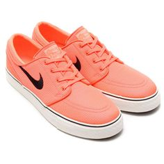 #Nike Zoom Janoski Canvas - Bright Mango/Black-Ivory-Gum Mid Brown #sneakers