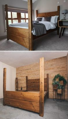 Plank bed by Classic Farmhouse Designs at Private Residence, Halifax