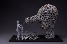 """Newsocchio,"" c.2010 by Viviana Santamarina"